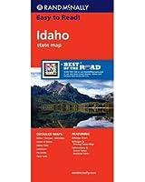 Rand McNally Easy to Read! Idaho State Map