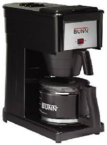 Bunn Coffee Maker Grx B Reviews : Amazon.com: Bunn-O-Matic GRX-BD 10 Cup Black High Altitude Brewer: Drip Coffeemakers: Kitchen ...