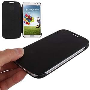 Ultra-thin Flip Leather Case for Samsung Galaxy S4 / i9500, Black