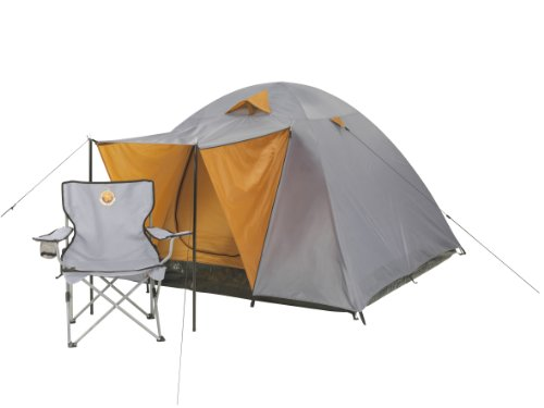 Grand Canyon Phoenix Large 4 Person Tent - Stone/Sand