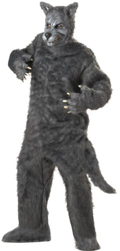 Adult Men's Deluxe Big Bad Wolf Halloween Costume