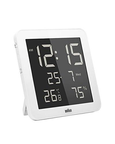 Braun Reloj despertador BNC014WHWH Blanco