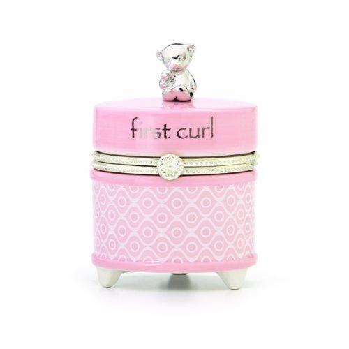 Nat and Jules First Curl Keepsake Box, Pink