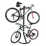 Twin Bicycle Gravity Work Stand 2 Bike Indoor Rack Reviews