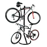 Twin Bicycle Gravity Work Stand 2 Bike Indoor Rackby Safield