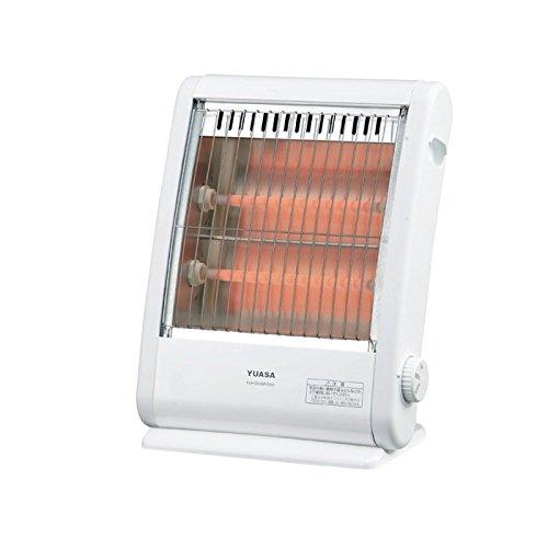ユアサ 電気ストーブ【暖房器具】YUASA YSH-D600R-SW