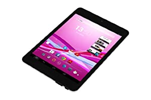 Xoro PAD 792 20 cm (7.9 Zoll) Tablet-PC (Rockchip, Cortex A9, 1.0GHz, 1GB RAM, 8GB Flash Speicher, Wireless-LAN, USB, Android 4.2) inkl. Softstoff-Schutzhülle schwarz
