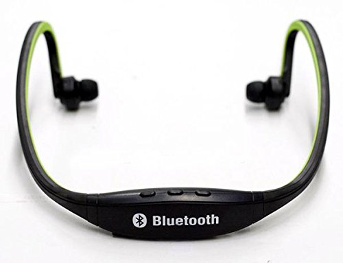 Universal Wireless Sport Bluetooth Headset Headphones Neckband Handfree For For Apple Iphone Samsung Htc Motorola Lg (Green)