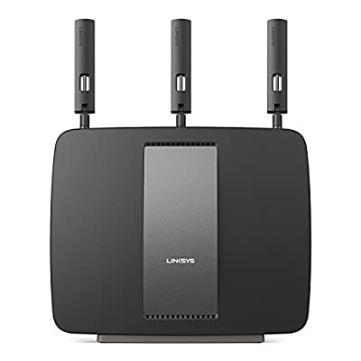 Linksys AC3200 Tri-Band Smart Wi-Fi Router with Gigabit and USB - EA9200 (Certified Refurbished)