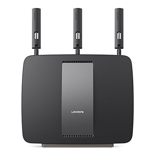 Linksys AC3200 Tri-Band Smart Wi-Fi Router with Gigabit and USB - EA9200 (Certified Refurbished) (Ac Tri Band Router compare prices)