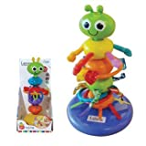 Delightful Lamaze Bendy Bug Highchair Toy - Cleva Edition ChildSAFE Door Stopz Bundle