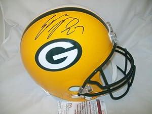 Eddie Lacy Autographed Helmet Full Size Jsa Coa Green Bay Packers Signed -... by Sports Memorabilia