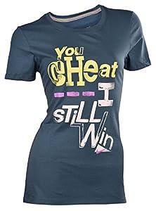 Nike Women's You Cheat---I still Win Slim Fit T-Shirt