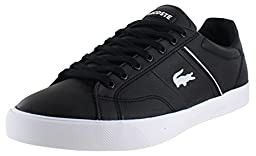 Lacoste Fairlead Rei Low Top Men\'s Sneakers Shoes Black Size 10.5