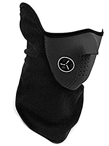 Windproof Dust-proof Half Face Mask for Ski Cycling Motorcycle