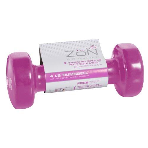 Imagen de Zon 4-Pound con mancuernas (Rosa)