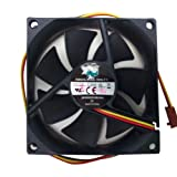 Cooler Master 80mm Dual Ball Bearing Case Fan Black - (SAF-B82-E1)