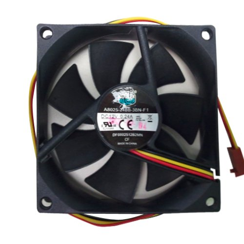 Cooler Master Dual Ball Bearing 80mm Cooling Fan for Computer Cases and CPU Coolers (Cooler Master Replacement Fan compare prices)