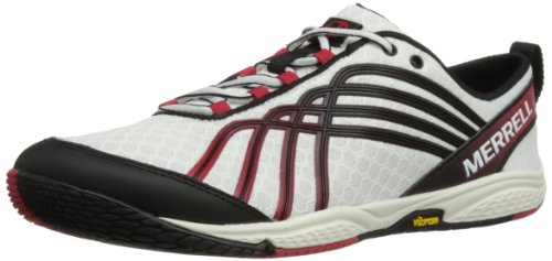 Merrell Men's Road Glove White/Crimson Trainer J40025 13 UK