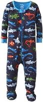 Hatley Baby Boys Infant Footed Coverall Deep Sea Creatures Pyjama Set