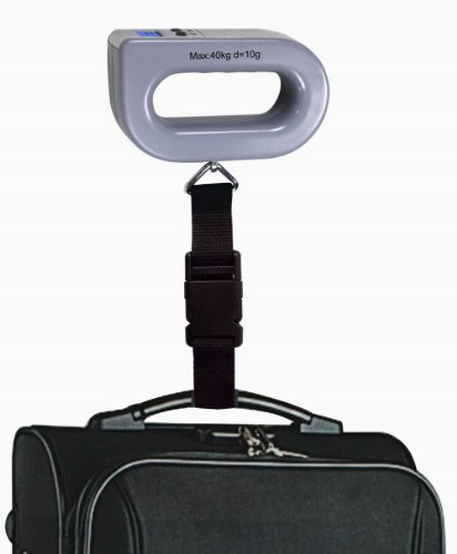 GSI Super Quality Digital Portable Travel Luggage Scale With LCD Display - Postal Weigh Function - New Design