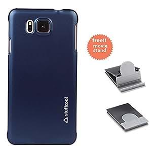 Stuffcool Element Hard Back Case Cover for Samsung Galaxy Alpha - Deep Blue (EMSG850-DBLU)