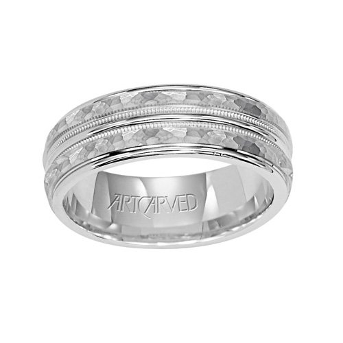 11-Wv5011W_L Abington Ladies Wedding Band 6.0Mm From Artcarved