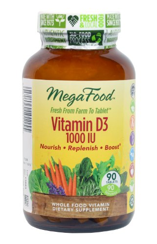 Megafood Vitamin D-3 1000 Iu Tablets, 90 Count (Ffp)