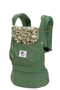 ERGObaby Organic Baby Carrier, Green River Rock