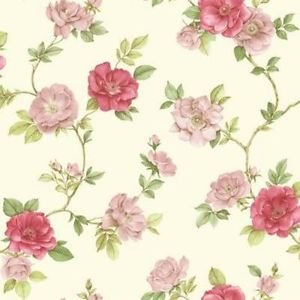 Briar Rose Red Wallpaper from New A-Brend