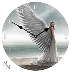Nemesis Now Nem05 Anne Stokes Clock Spirit Guide Angel