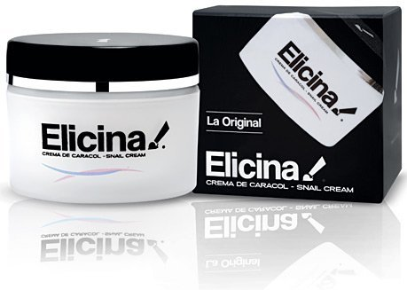 Elicina Crema de Caracol Snail Cream Eliminates &amp; Softens Wrinkles, Acne, Rosacea, Scars, Burns, Age Spots &amp; Stretch Marks