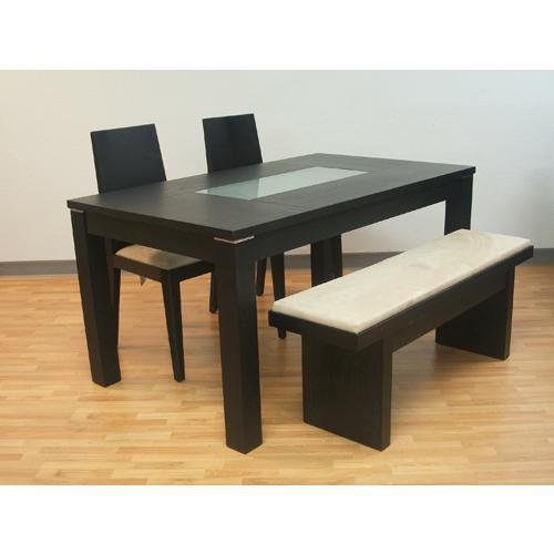 Furniture dining room furniture glass table frosted glass - Frosted glass dining tables ...