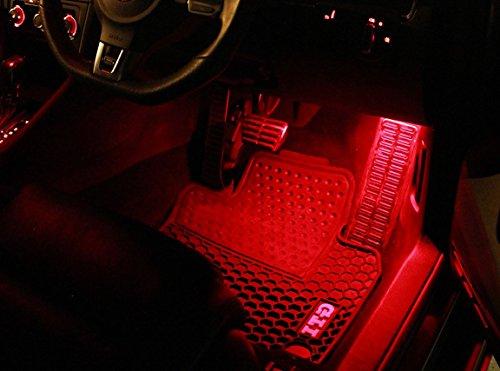 2x-eclairage-de-plancher-smd-led-rouge-peut-flawless-pour-vw-golf-gti