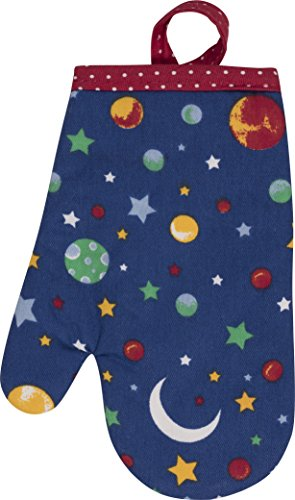 Handstand Kitchen Child's 'Stars and Planets' Oven Mitt (Small Size Oven Mitt compare prices)