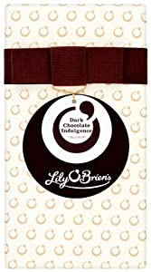 Lily O'Brien's Dark Chocolate Indulgence Gift Wrap Assorted Collection of Finest Dark Chocolate Recipes (Pack of 2)