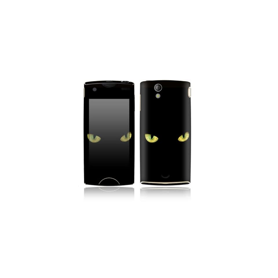 Cat Eyes Design Decorative Skin Cover Decal Sticker for Sony Ericsson Xperia Ray Cell Phone