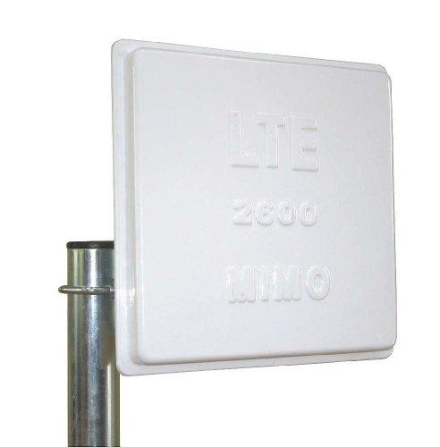 Yagiwlan LTE Richtfunk Antenne mit 2600 MIMO Technologie inklusive 5M Twin-Antennenkabel 2 x 5Meter Kabel SMA für Huawei Speedport B390S 2, B390 S-2, DD800, LTE Router Speedport B390S, B390, B1000, B2000, Lancom 1781-4G, Vodafone Turbobox 803, LG FM300, DD800 FRITZ!Box 6840