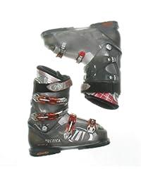 Used Tecnica Vento 6 Gray Ski Boots Men's Size 10.0 - Mondo 28.0