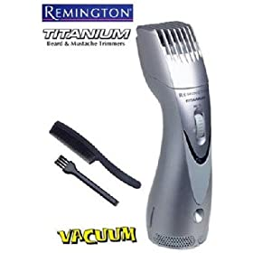 Remington MB-70 MB70 vacuum beard & mustache trimmer (factory refurbished)