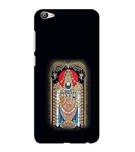 ifasho Tirupati Balaji Back Case Cover for VIVO X7