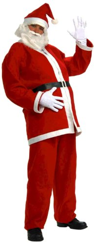 Forum Novelties Plus-Size Extra Large Simply Santa Costume