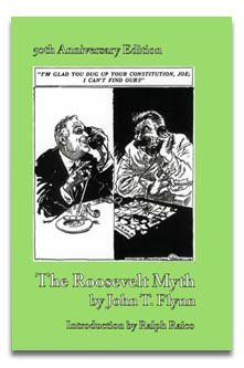 Large book cover: The Roosevelt Myth