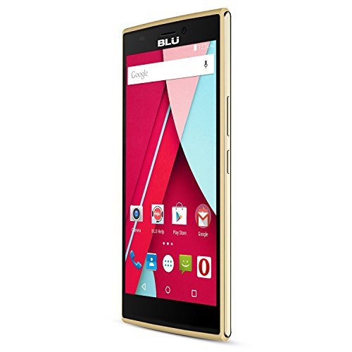 BLU Life One 4G LTE Smartphone -GSM Unlocked - Gold