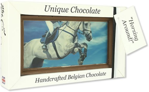 Large 'Horsing Around!' Belgian Milk Chocolate