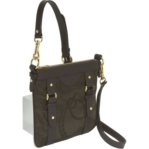 LAUREN by Ralph Lauren Martingale Cross-Body Bag