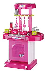 Toyrific play kitchen set with lights and sound for Kitchen set toys amazon