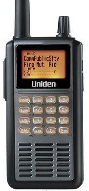 UBC-3500XLT 2500 Channel Handheld Scanning Receiver