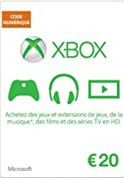 Carte Xbox Live de 20 EUR [Code Digital - Xbox Live]