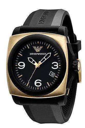 Emporio Armani reloj hombre goma negro AR5888